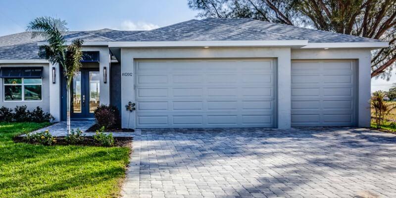 modern double garage door - Supreme Garage Door Repair
