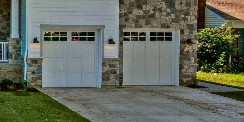 modern garage doors with windows - Supreme Garage Door Repair