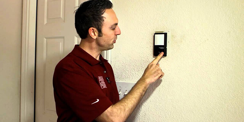 garage door opener wall control - Supreme Garage Door Repair